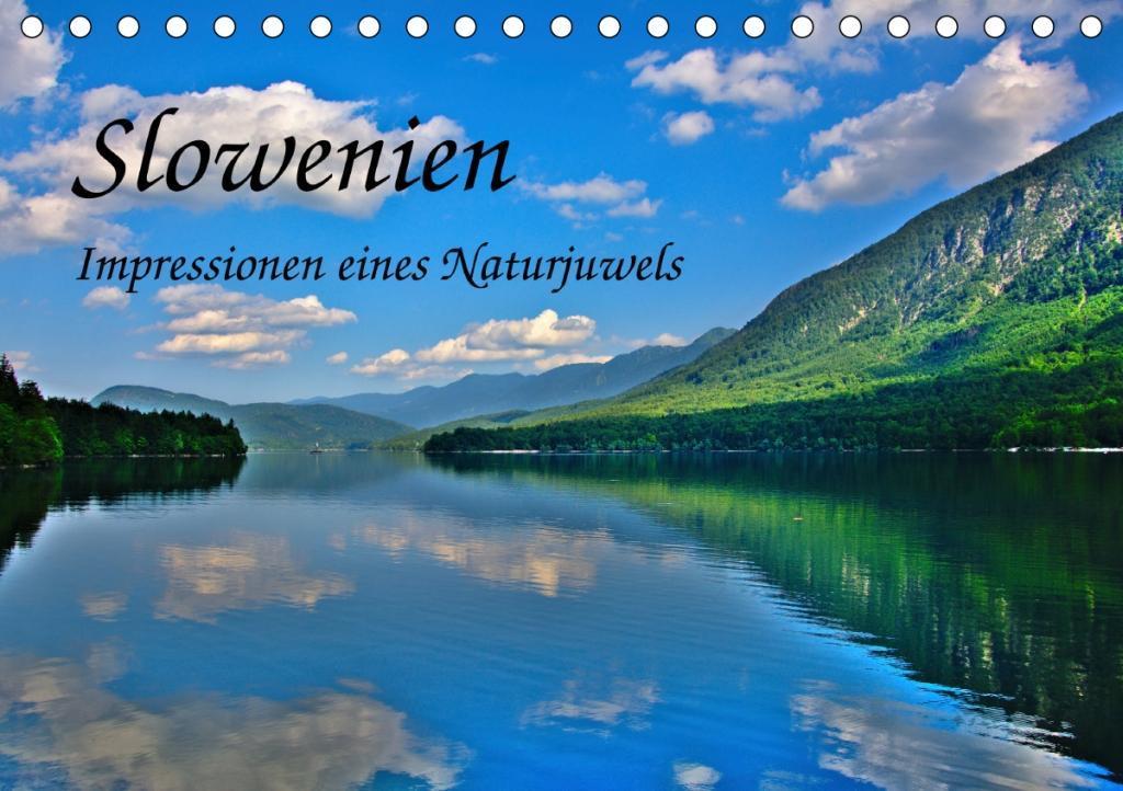 Slowenien - Impressionen eines Naturjuwels (Tischkalender 2020 DIN A5 quer)