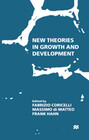 New Theories in Growth and Development