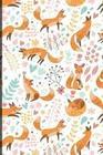 Notizbuch: Fuchs Cover Design / 120 Seiten / Punktraster / Din A5 + (15,24 X 22,86 CM) / Soft Cover / Optimal ALS Tagebuch, Bulle