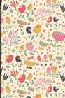 Notizbuch: Vögel Und Blumen Cover Design / 120 Seiten / Kariert / Din A5 + (15,24 X 22,86 CM) / Soft Cover / Optimal ALS Tagebuch