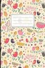 Notizbuch: Vögel Und Blumen Cover Design / 120 Seiten / Punktraster / Din A5 + (15,24 X 22,86 CM) / Soft Cover / Optimal ALS Tage