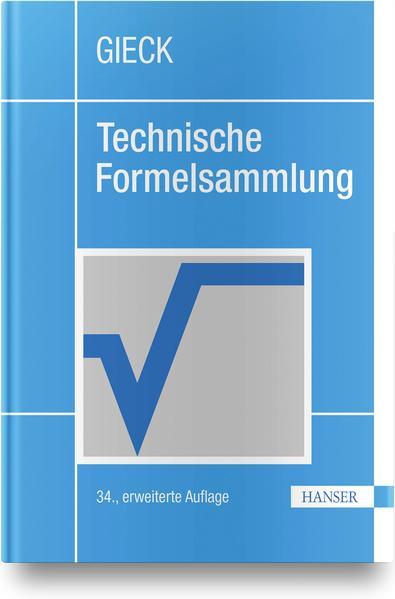 Technische Formelsammlung als Buch