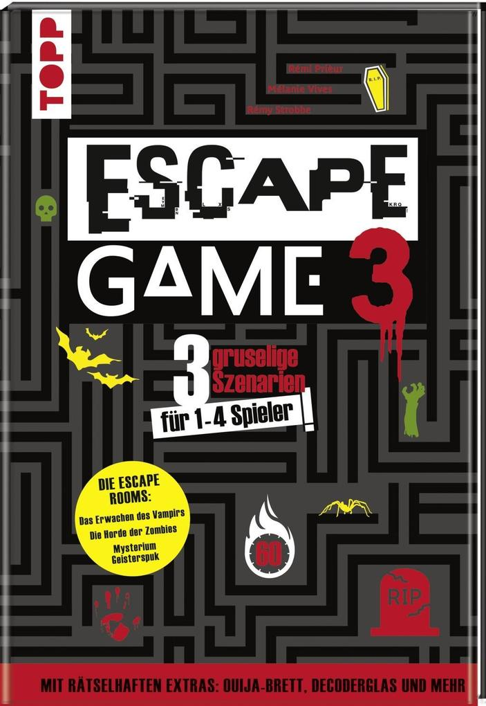Escape Game 3 HORROR als Buch