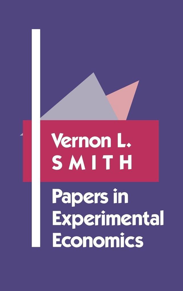Papers in Experimental Economics