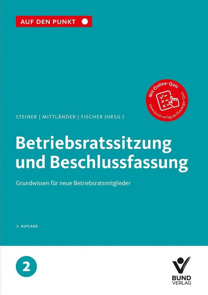 Betriebsratssitzung und Beschlussfassung als Buch (kartoniert)