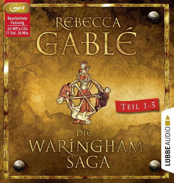 Die Waringham-Saga - Teil 1-Teil 5 als Hörbuch