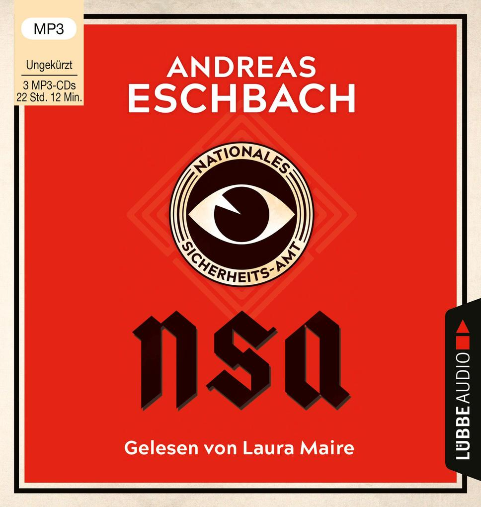NSA - Nationales Sicherheits-Amt als Hörbuch