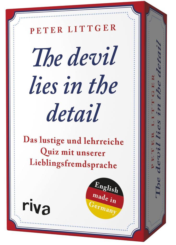 The devil lies in the detail als sonstige Artikel