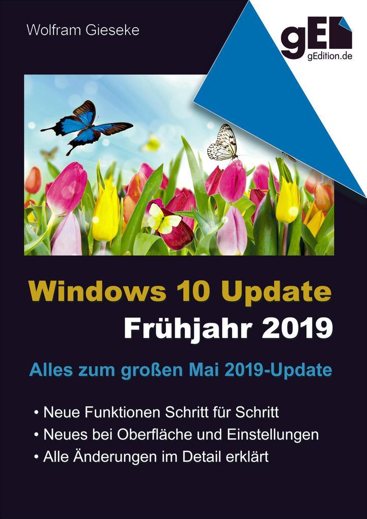 Windows 10 Update - Frühjahr 2019 als eBook