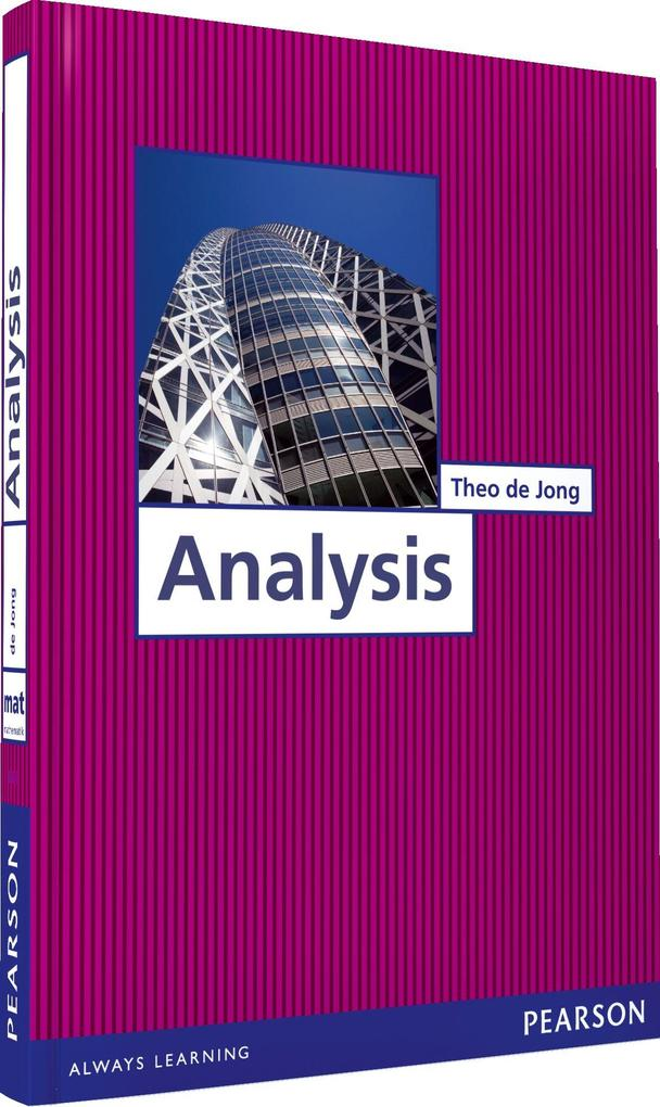 Analysis als eBook