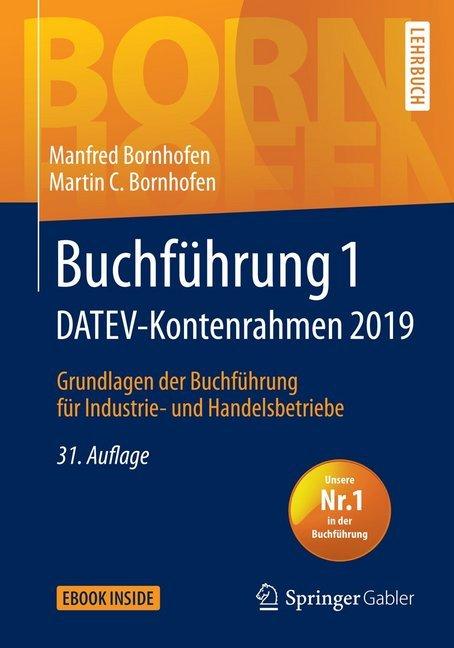 Buchführung 1 DATEV-Kontenrahmen 2019 als Buch