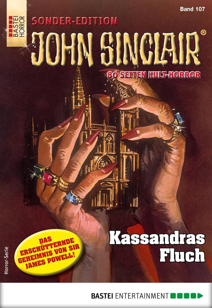 John Sinclair Sonder-Edition 107 - Horror-Serie als eBook