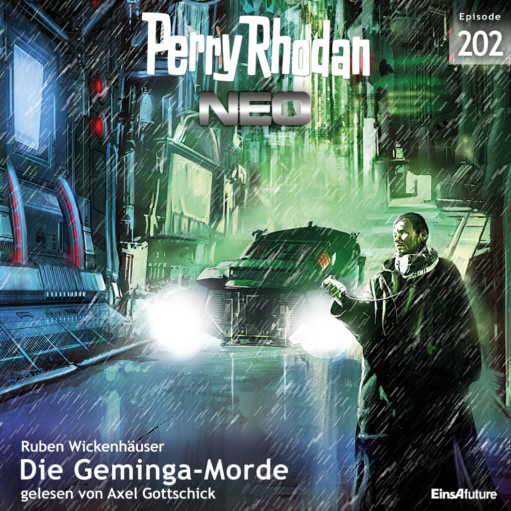 Perry Rhodan Neo 202: Die Geminga Morde als Hörbuch Download