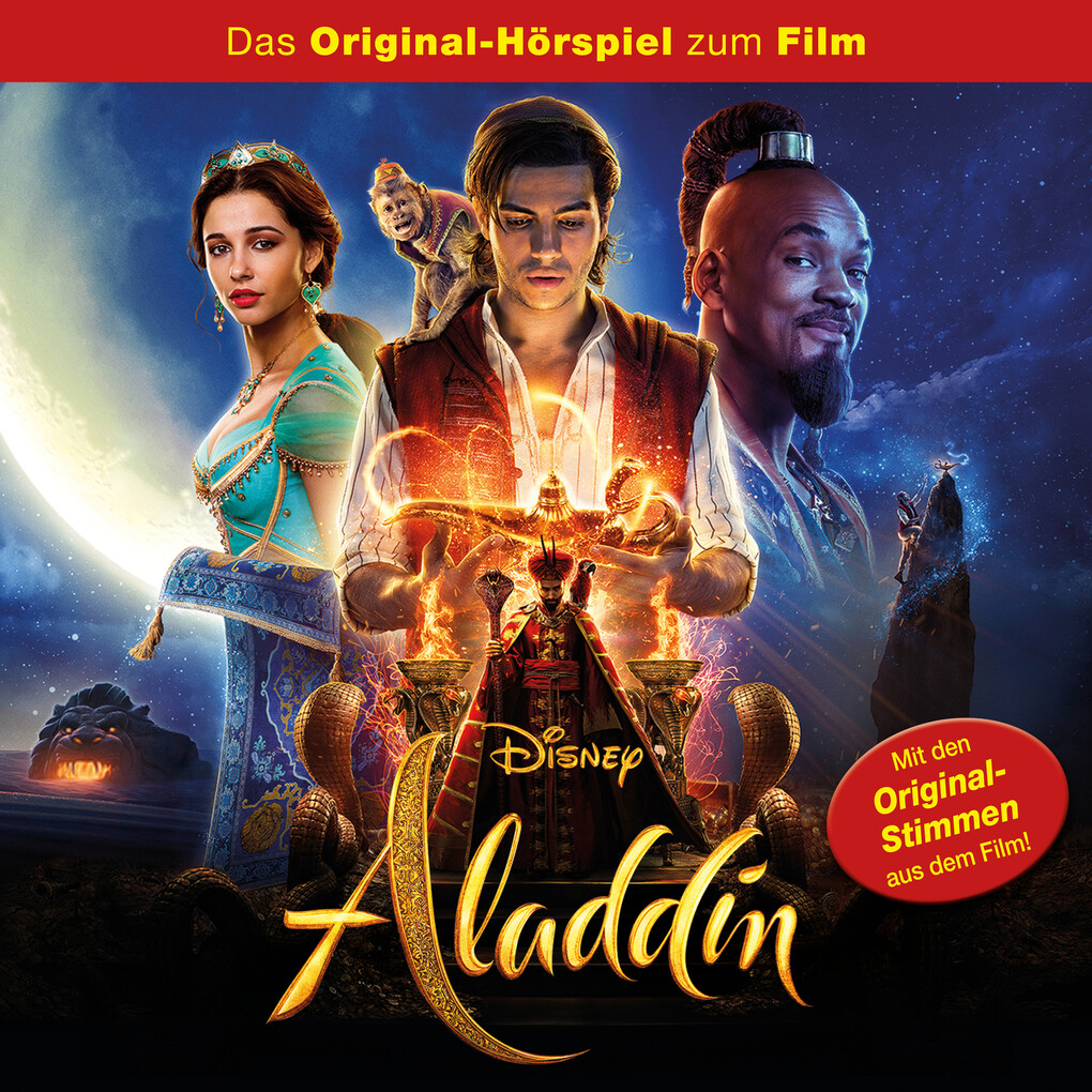 Aladdin (Real-Kinofilm) als Hörbuch Download