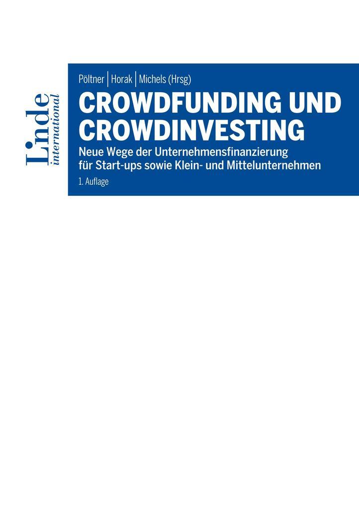 Crowdfunding und Crowdinvesting als eBook epub