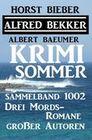 Krimi Sommer Sammelband 1002 - Drei Mords-Romane großer Autoren