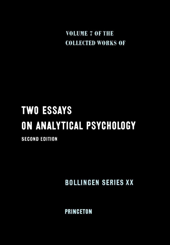 Collected Works of C.G. Jung, Volume 7: Two Essays in Analytical Psychology als Buch