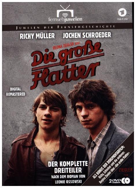 Die große Flatter - Der komplette Dreiteiler (Digital Remastered). 2 DVDs als DVD