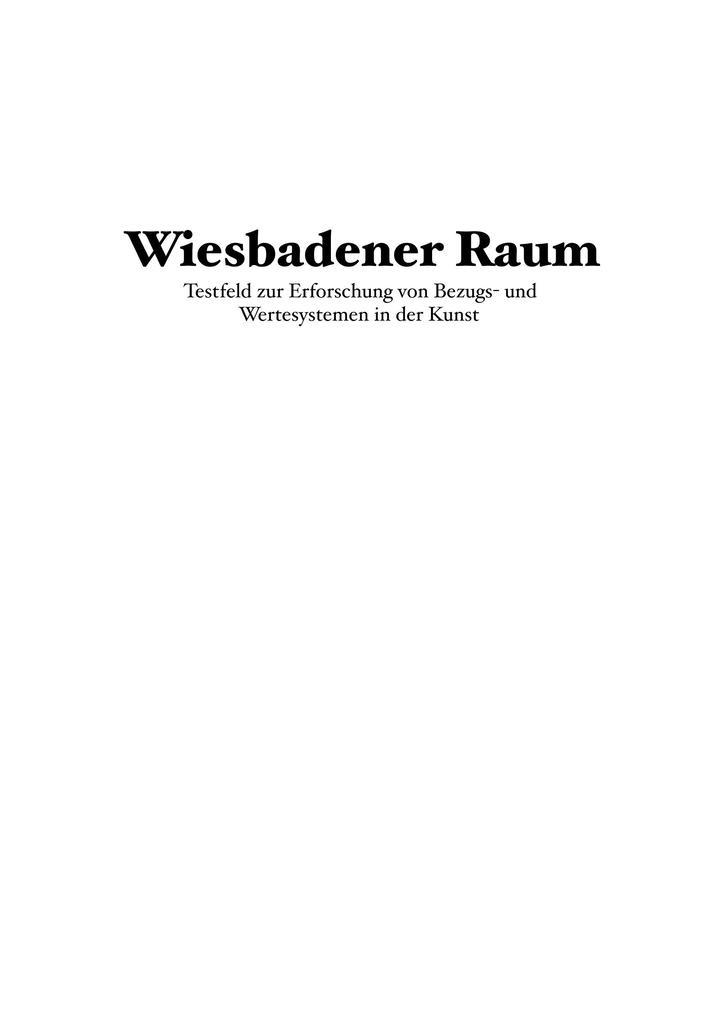 Wiesbadener Raum