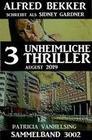 Patricia Vanhelsing Sammelband 3002 - 3 unheimliche Thriller Juli 2019