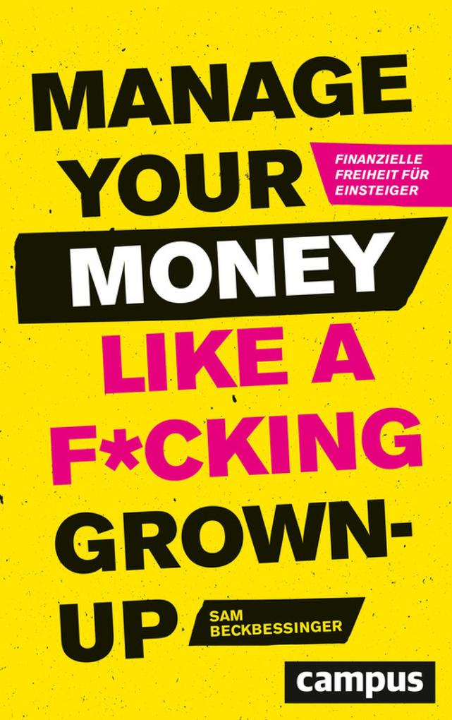 Manage Your Money like a F*cking Grown-up als eBook