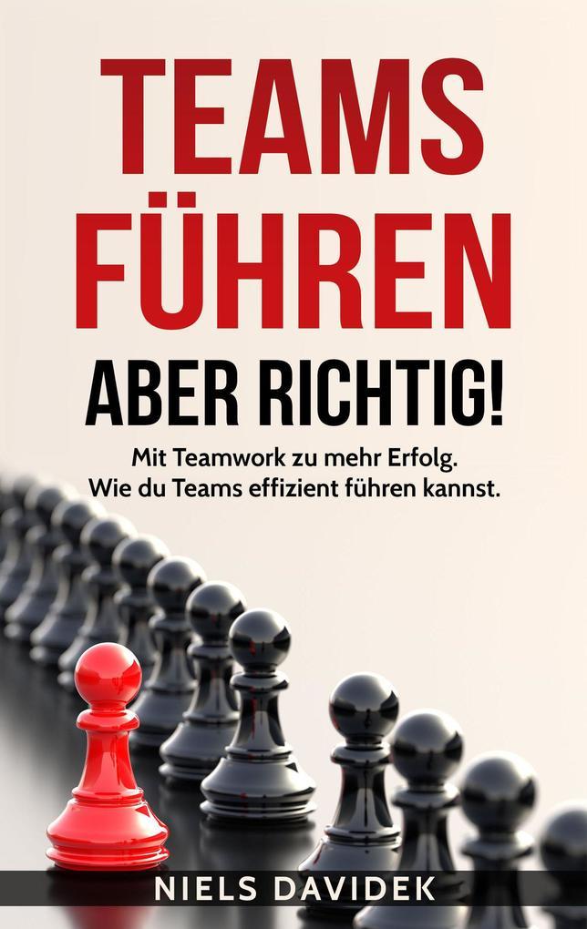 Teams Führen - aber Richtig!: Mit Teamwork zu mehr Erfolg. Wie Du Teams Effizient Führen Kannst. als eBook