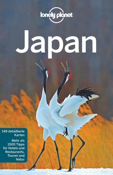 Lonely Planet Reiseführer Japan als Buch (kartoniert)