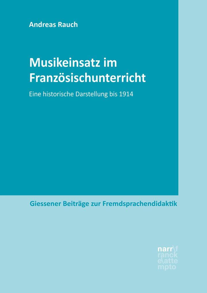 Musikeinsatz im Französischunterricht als eBook