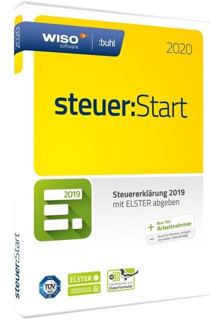 WISO steuer:Start 2020 als Software
