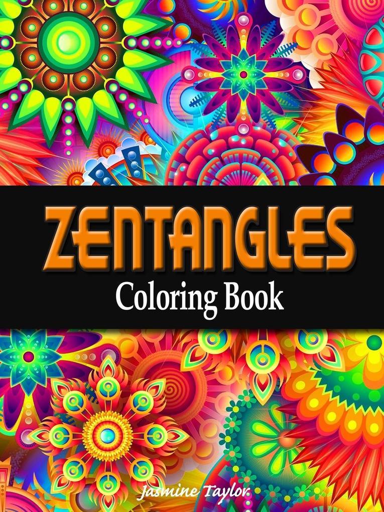 Zentangles Coloring Book
