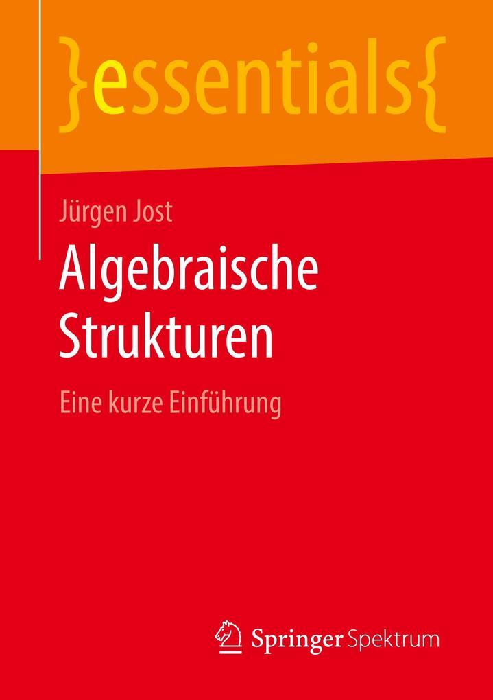 Algebraische Strukturen als Buch (kartoniert)