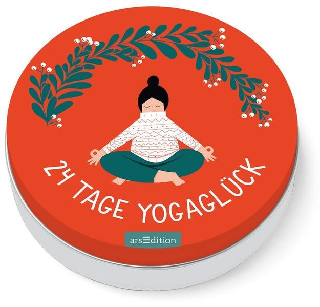 24 Tage Yogaglück als Taschenbuch