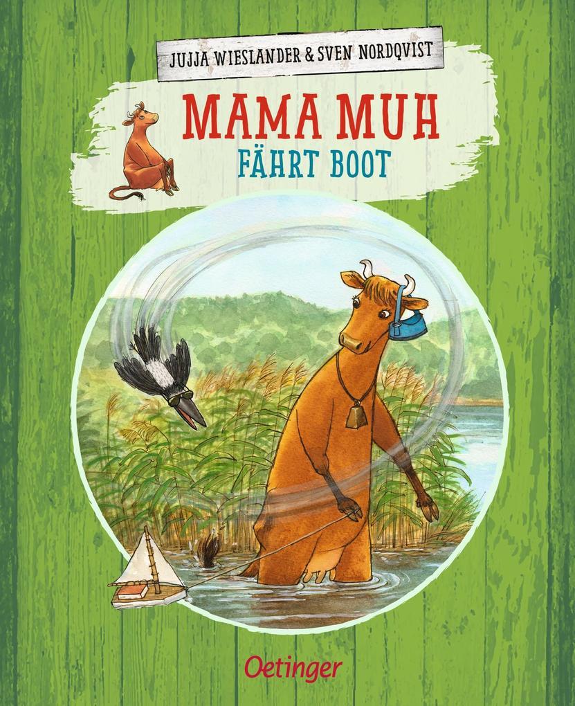 Mama Muh fährt Boot als Buch (gebunden)