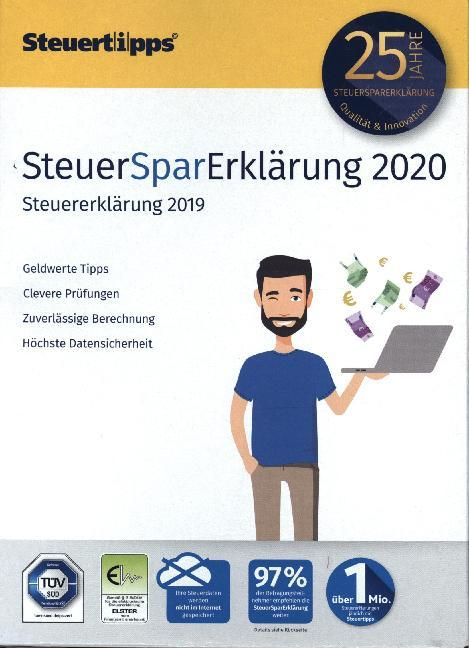 SteuerSparErklärung 2020 als Software