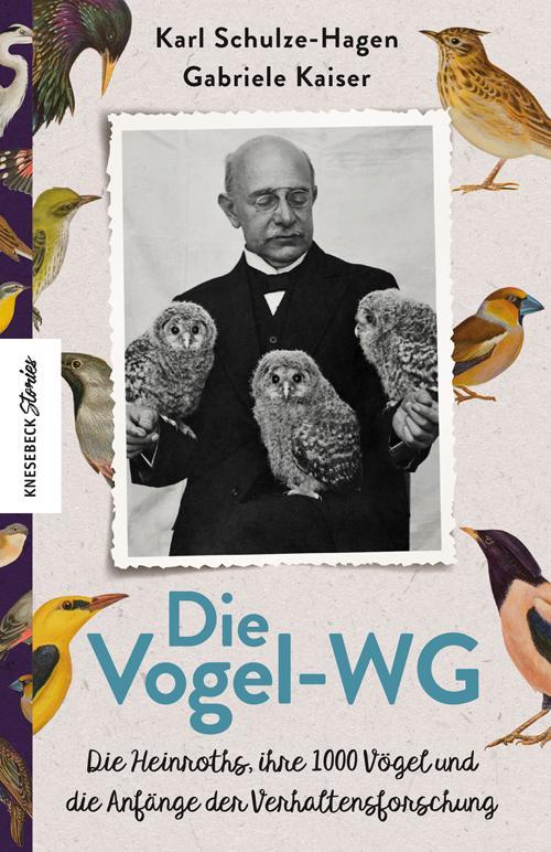 Die Vogel-WG als Buch (gebunden)