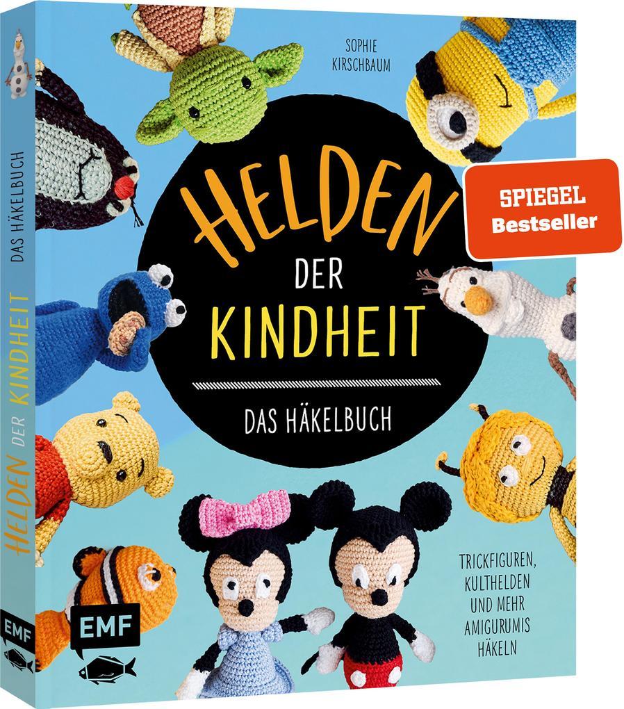 Helden der Kindheit - Das Häkelbuch - Trickfiguren, Kulthelden und mehr Amigurumis häkeln als Buch (gebunden)