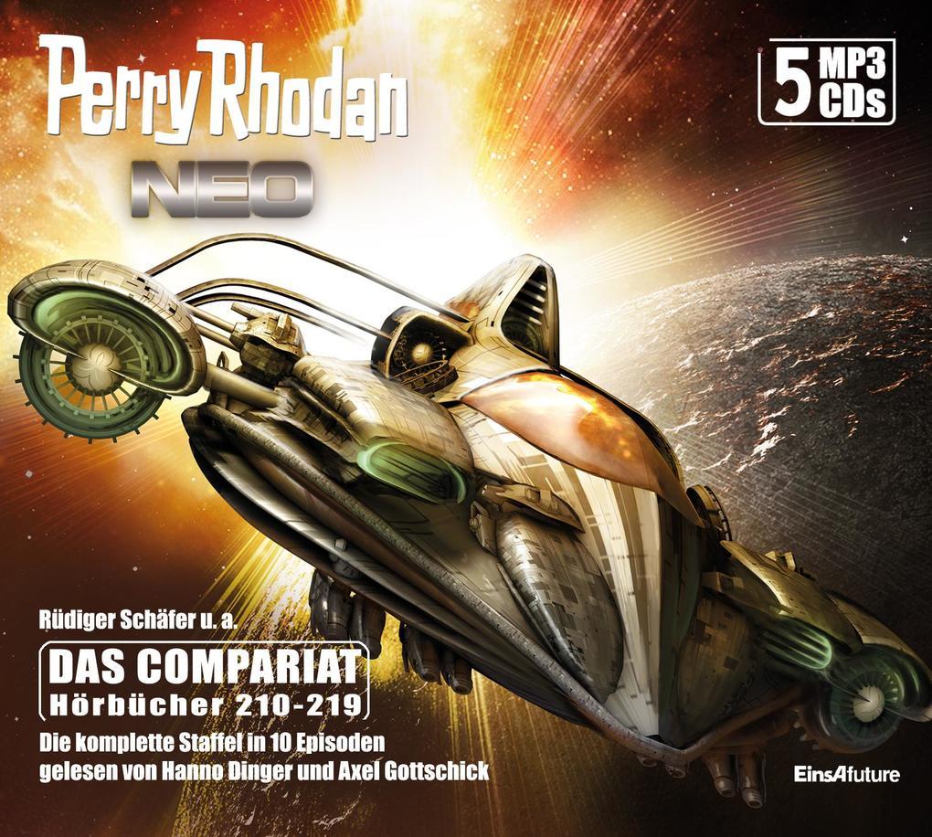 Perry Rhodan Neo Episoden 210-219 als Hörbuch CD
