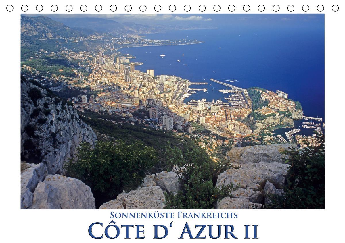 Cote d' Azur II - Sonnenküste Frankreichs (Tischkalender 2021 DIN A5 quer)
