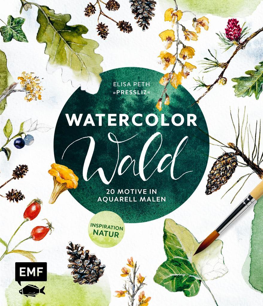 Watercolor Wald als eBook epub