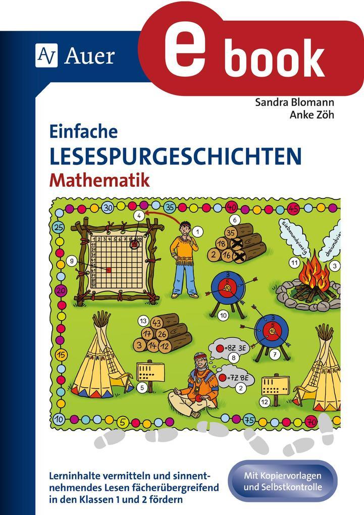 Einfache Lesespurgeschichten Mathematik