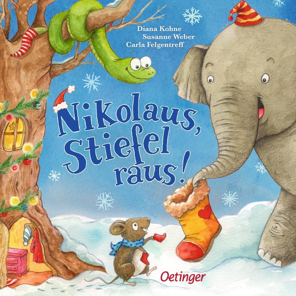 Nikolaus, Stiefel raus! als Buch (kartoniert)