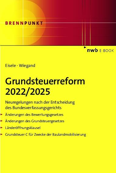 Grundsteuerreform 2022/2025 als eBook pdf