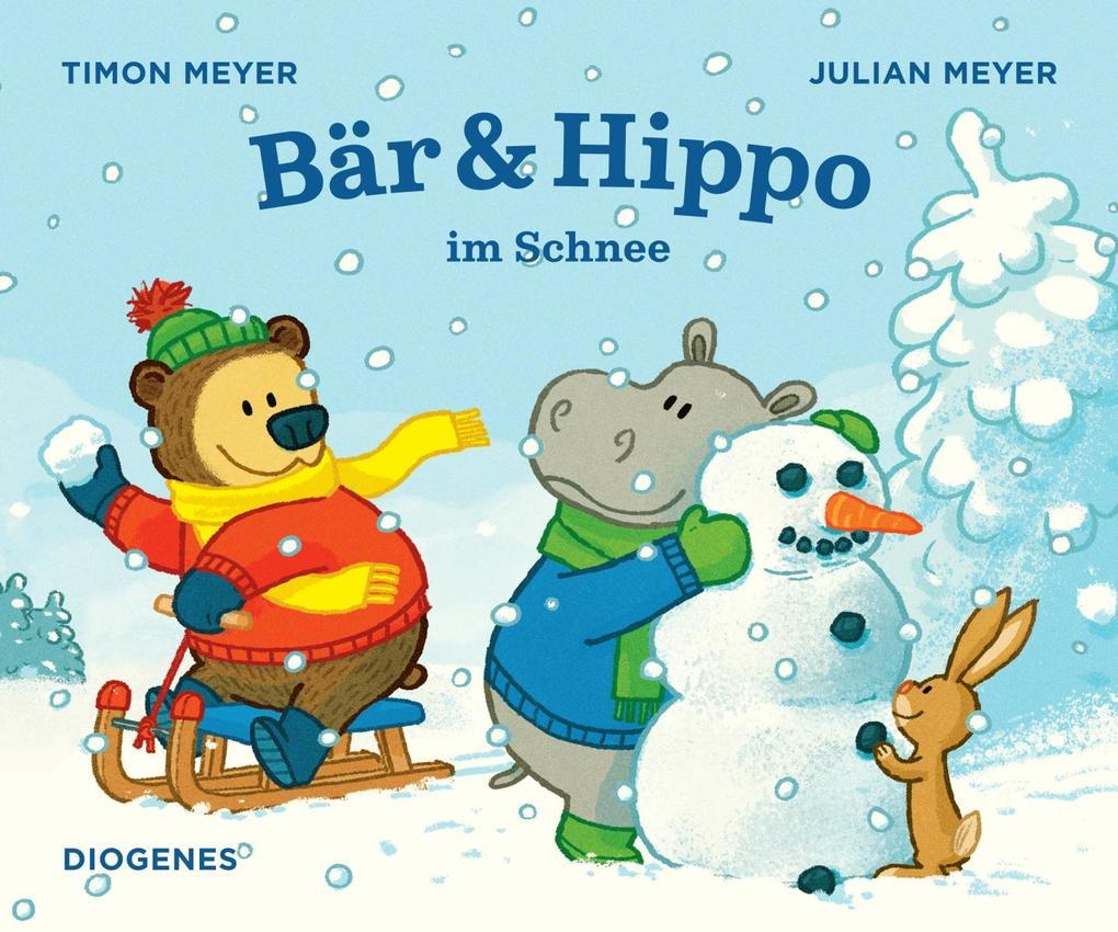 Bär & Hippo im Schnee als Buch (gebunden)
