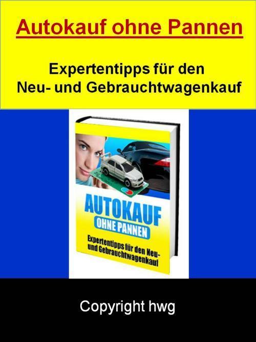 Autokauf ohne Pannen als eBook epub