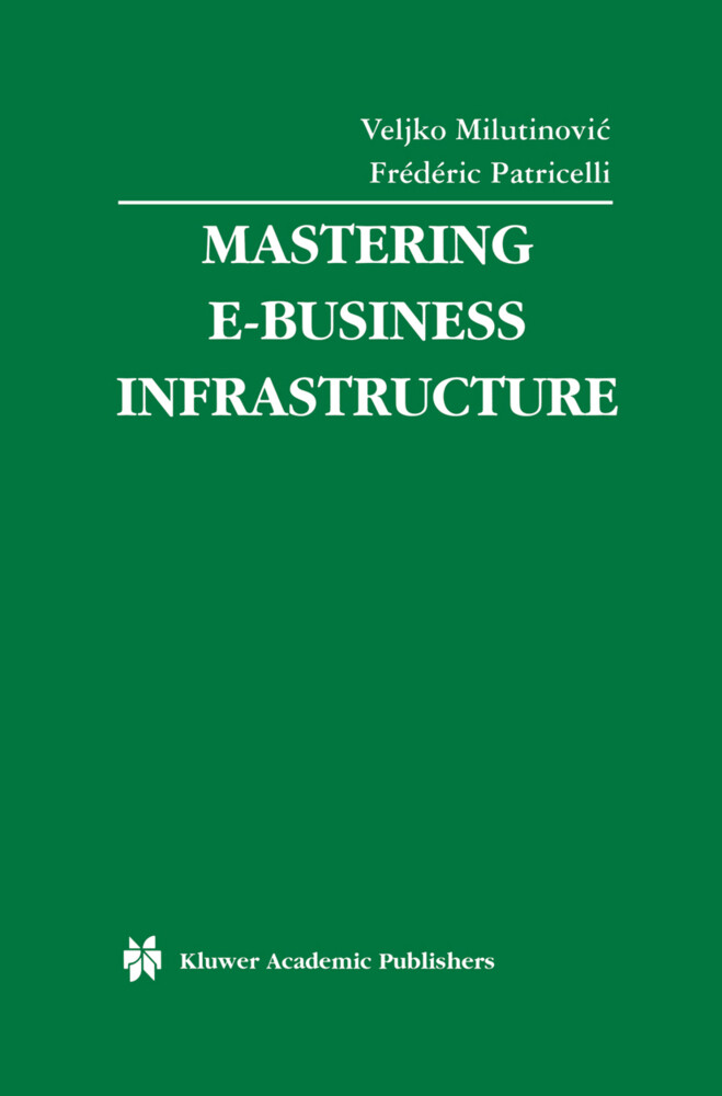 Mastering E-Business Infrastructure als Buch