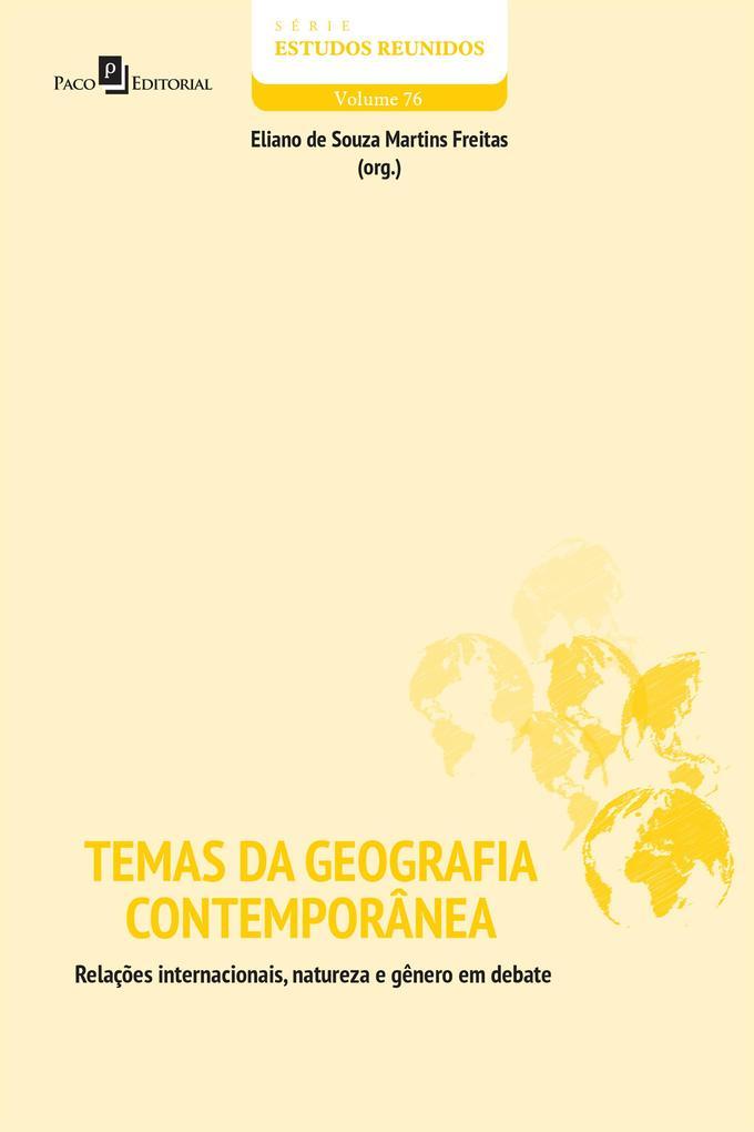 Temas da geografia contemporânea