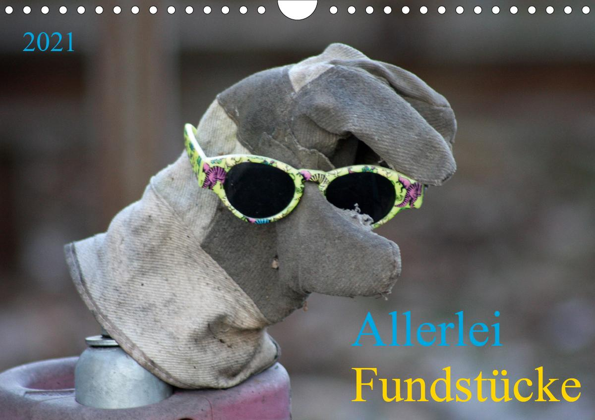 Allerlei Fundstücke (Wandkalender 2021 DIN A4 quer)