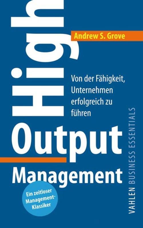 High Output Management als eBook epub