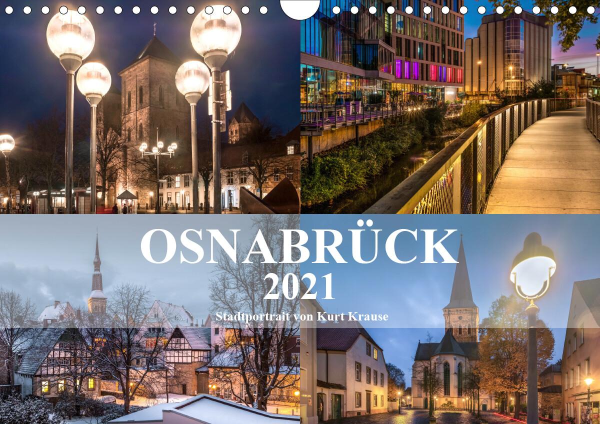 Stadtportrait Osnabrück (Wandkalender 2021 DIN A4 quer)