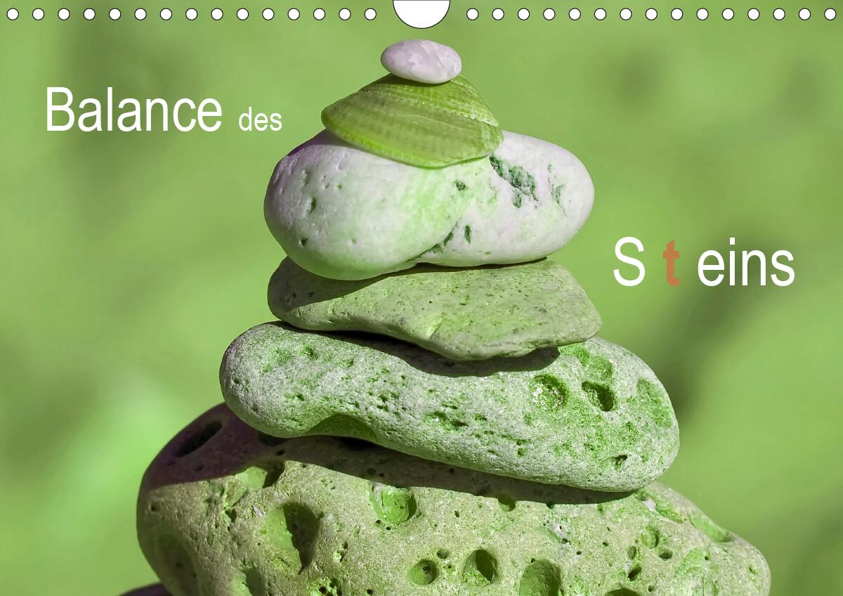 Balance des Steins (Wandkalender 2021 DIN A4 quer)